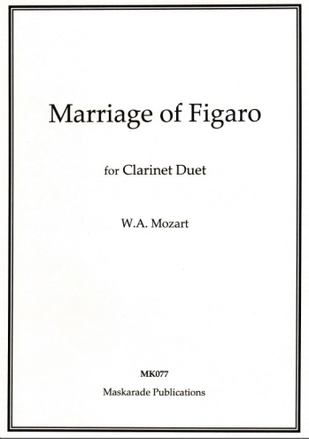 THE MARRIAGE OF FIGARO (playing score)