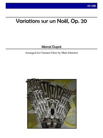 VARIATIONS SUR UN NOEL, Op.20