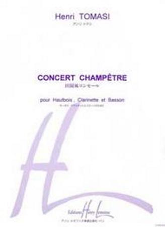 CONCERT CHAMPETRE (score & parts)