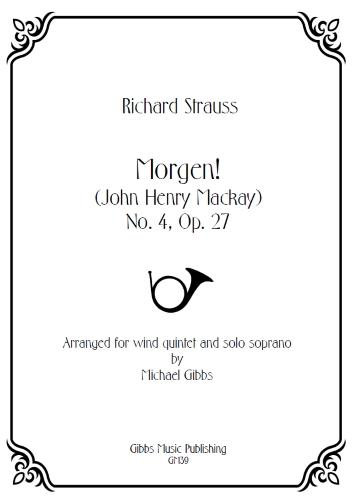MORGEN! Op.27 No.4 (score & parts)