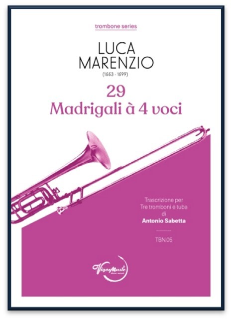 29 MADRIGALLI a 4 Voci (score & parts)