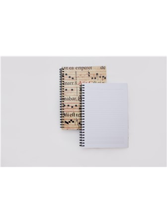 NOTEBOOK St Cecilia A5 (Natural Finish)