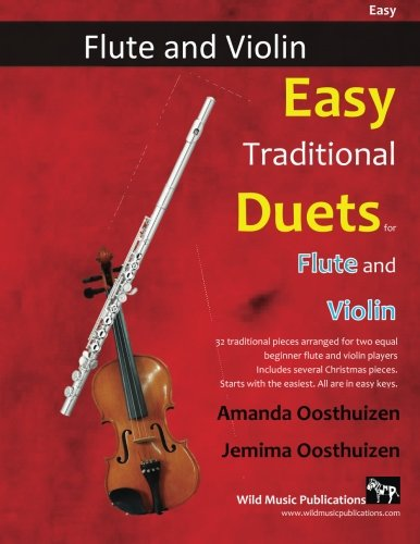 EASY TRADITIONAL DUETS for Flute & Violin