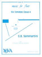 SIX SONATAS Op.4