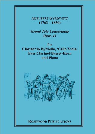 GRAND TRIO CONCERTANTE Op.43