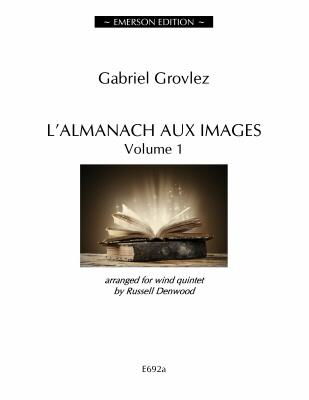 L'ALMANACH AUX IMAGES Volume 1 (score & parts)