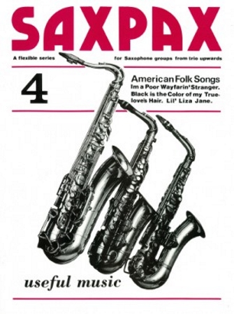 SAX PAX 4: American Folksongs (score & parts)