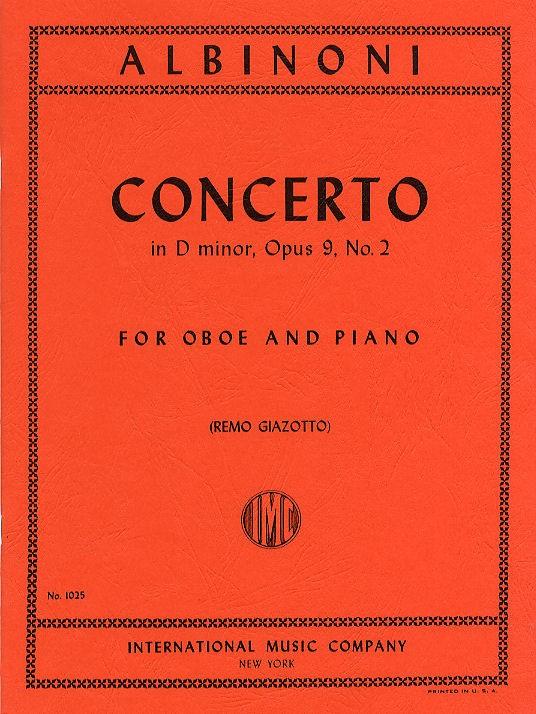 CONCERTO in D minor Op.9 No.2