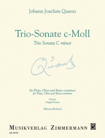 TRIO SONATA in C minor QV2: Anh.5 (Urtext)