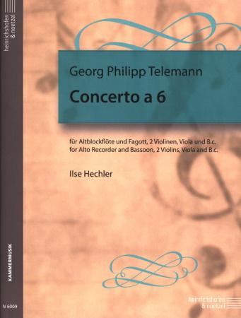 CONCERTO a 6 (score & parts)