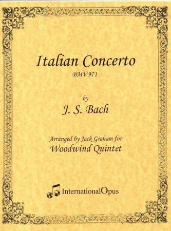 ITALIAN CONCERTO (score & parts)