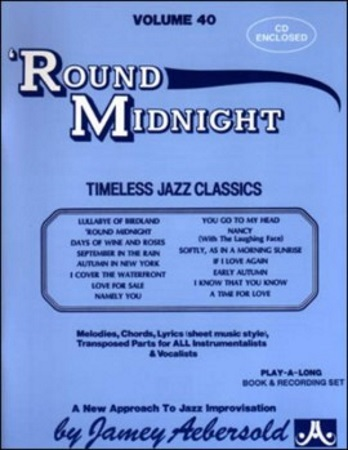 'ROUND MIDNIGHT Volume 40 + CD