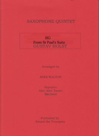 JIG from St Paul's Suite (score & parts)