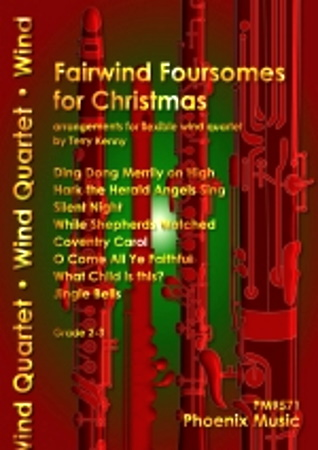 FAIRWIND FOURSOMES FOR CHRISTMAS (score & parts)