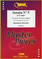 SONATA No.5 in Bb major (original in C)