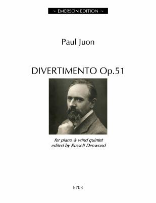 DIVERTIMENTO Op.51 (score & parts)