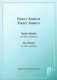 SIX PIECES for Flute and Piano