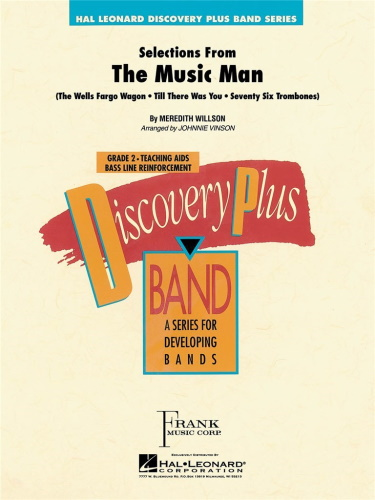 SELECTIONS FROM THE MUSIC MAN (score & parts)