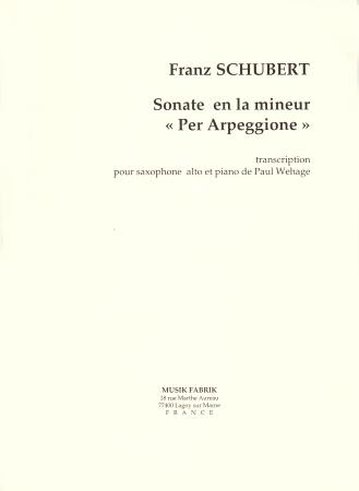 SONATA in A minor 'Arpeggione'