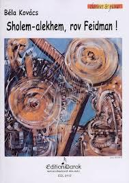 SHOLEM-ALEKHEM ROV FEIDMAN!