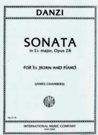 SONATA in Eb major, Op.28