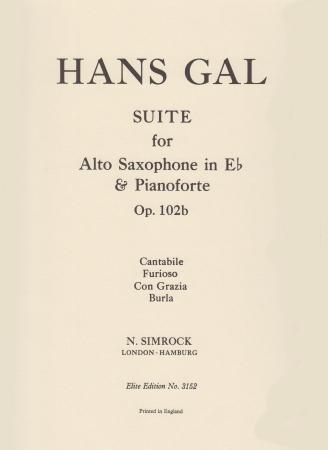 SUITE in Bb major Op.102b
