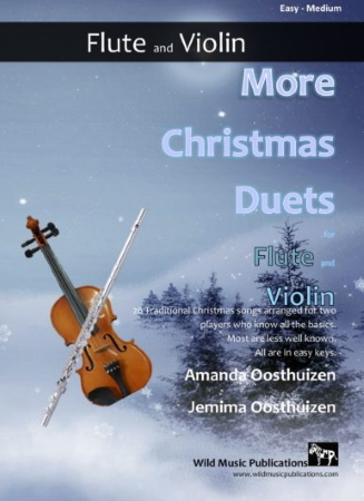 MORE CHRISTMAS DUETS for Flute & Violin