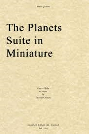 THE PLANETS SUITE IN MINIATURE (score & parts)