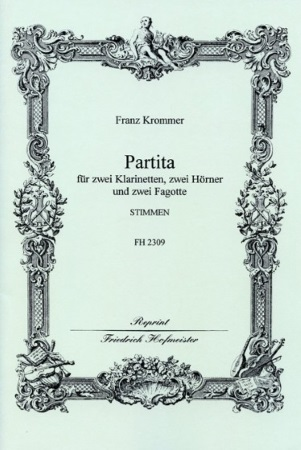 PARTITA in Eb Major -  set of parts