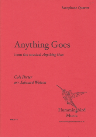 ANYTHING GOES (score & parts)