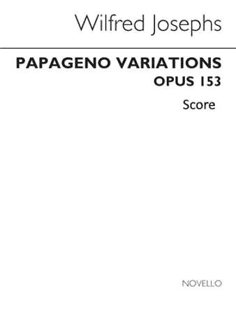 PAPAGENO VARIATIONS Op.153 (score)