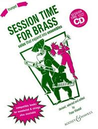 SESSION TIME FOR BRASS trumpet part
