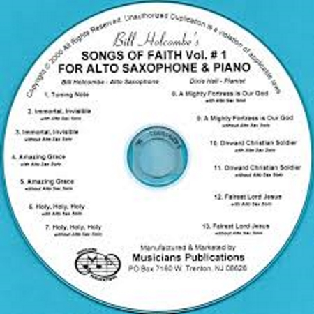 SONGS OF FAITH Volume 1 CD accompaniment