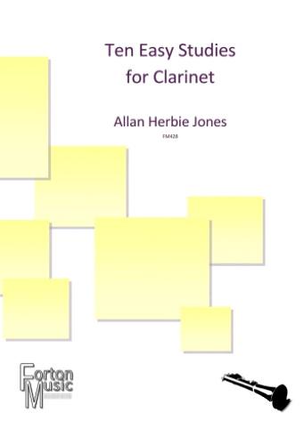 TEN EASY STUDIES for Clarinet