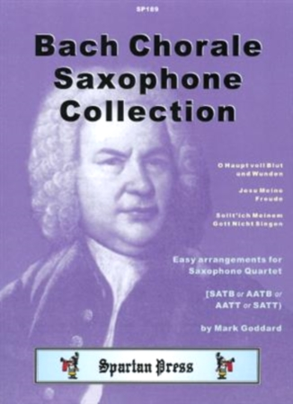 BACH CHORALE SAXOPHONE COLLECTION (score & parts)