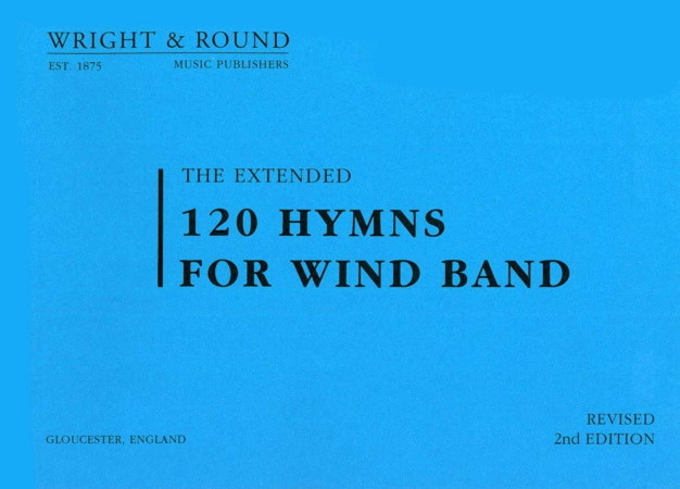 120 HYMNS FOR WIND BAND (A4 size) Drums