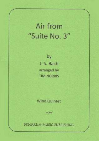 AIR from Suite No.3 (score & parts)