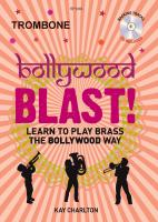 BOLLYWOOD BLAST + CD trombone