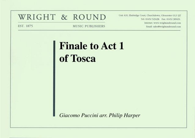 FINALE to Act 1 of Tosca (score & parts)