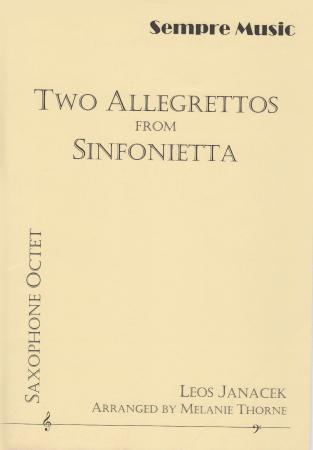 TWO ALLEGRETTOS from Sinfonietta (score & parts)