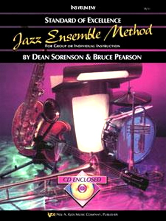 STANDARD OF EXCELLENCE Jazz Ensemble Method + CD Flute