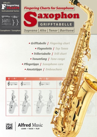 GRIFFTABELLE SAXOPHONE FINGERING CHARTS