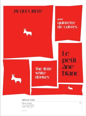 LE PETIT ANE BLANC  score & parts