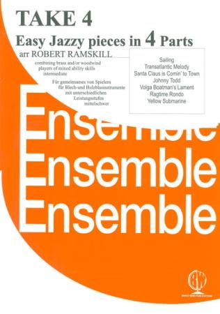 TAKE FOUR Part D: trombone/euphonium treble clef