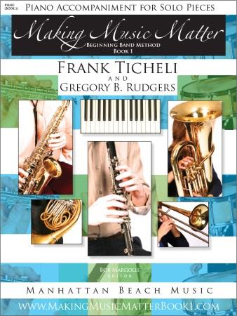 MAKING MUSIC MATTER Book 1 Piano Accompaniments