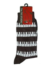 SOCKS Black & White Keyboard (Size 6-11)