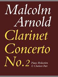 CLARINET CONCERTO No.2 Op.115