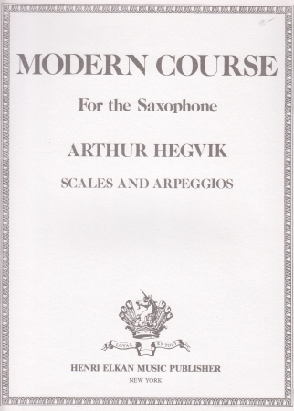 MODERN COURSE Scales and Arpeggios