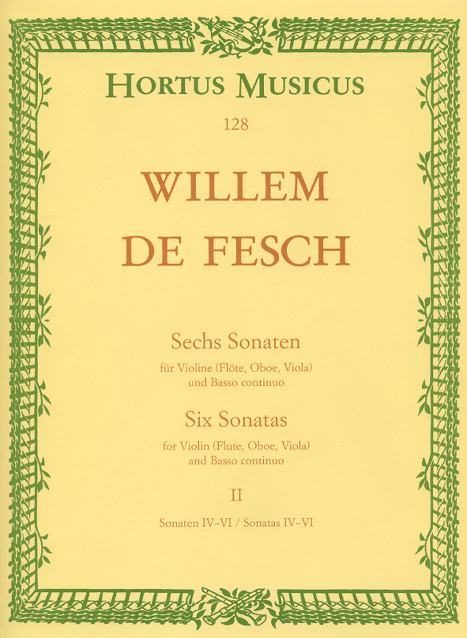 SIX SONATAS Volume 2