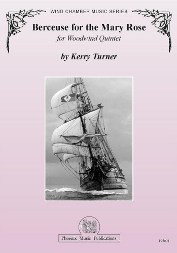 BERCEUSE FOR THE MARY ROSE (score & parts)